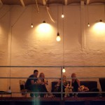 Empore + Lichtinstallation