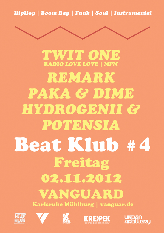 Beat Klub #4 mit Twit One etc.