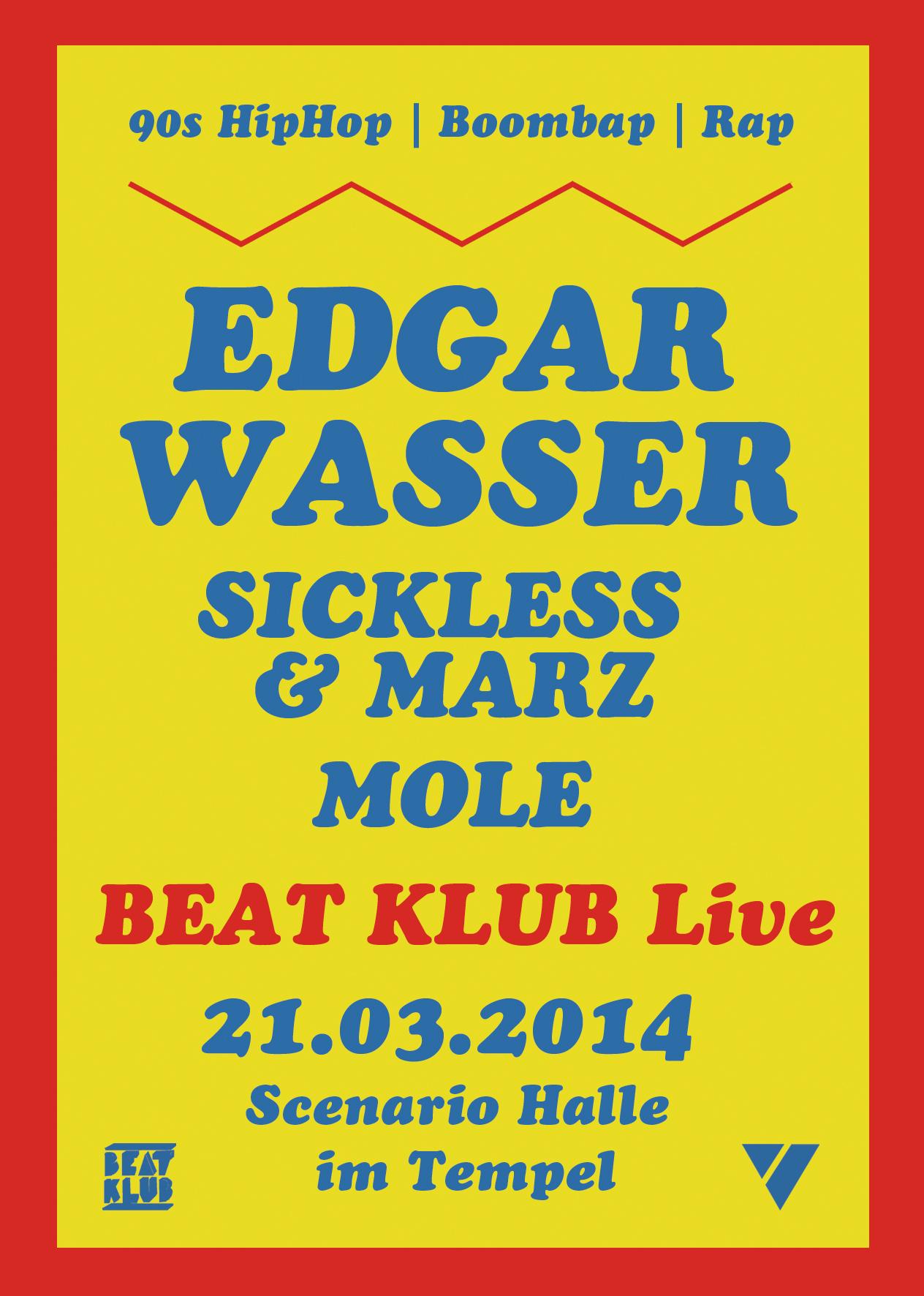 21.03.2014 | BEAT KLUB Live mit EDGAR WASSER