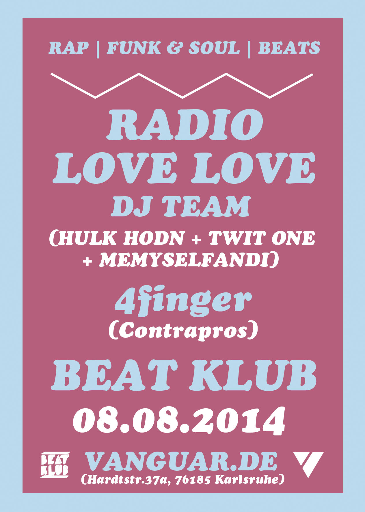 08.08.2014 | BEAT KLUB mit RADIO LOVE LOVE DJ Team | Summer Closing Party