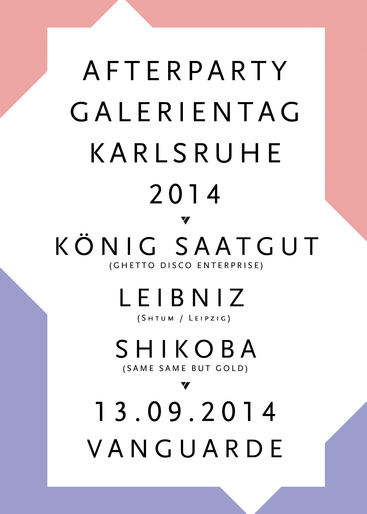 13.09.2014 | Afterparty Galerientag Karlsruhe 2014
