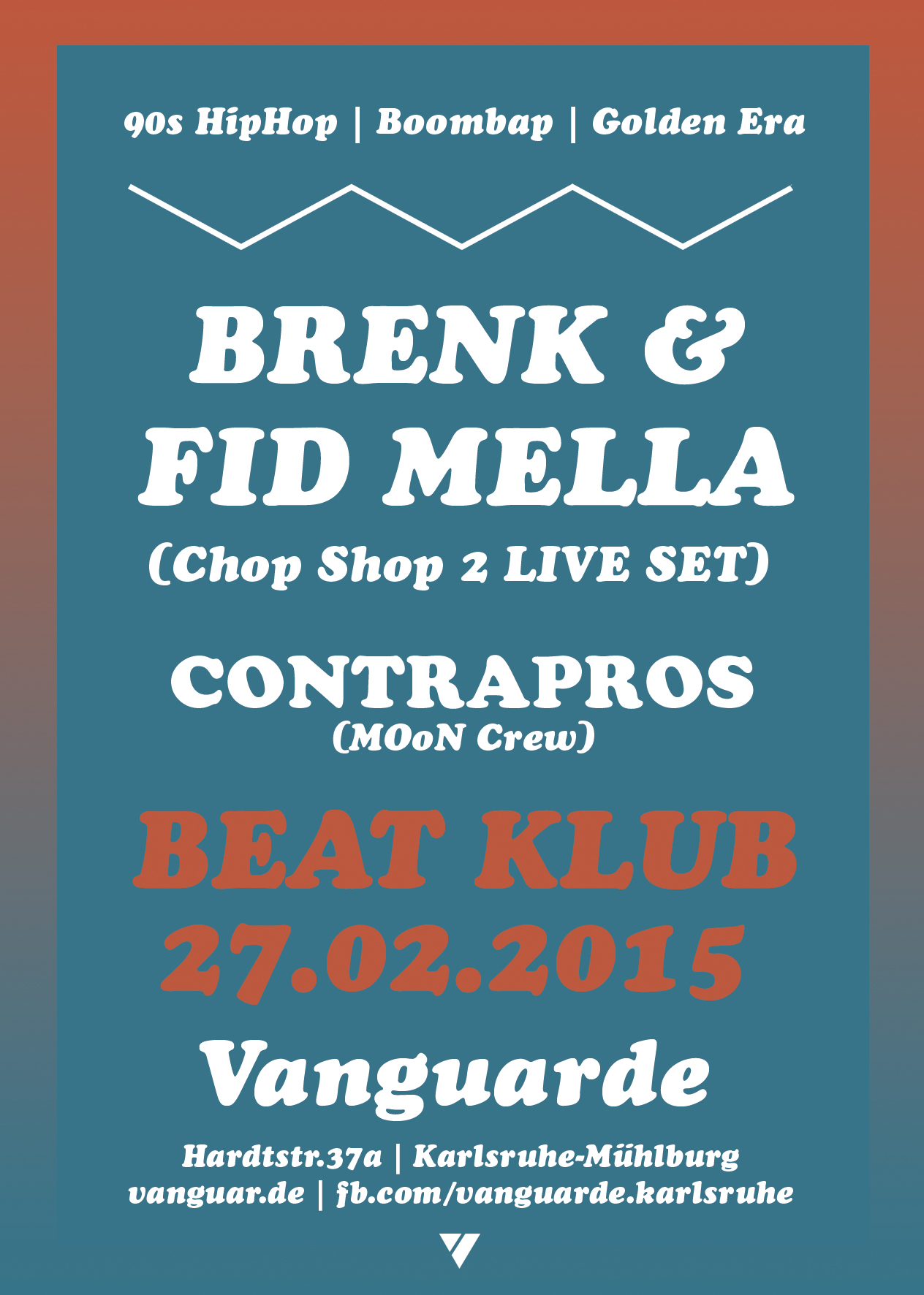 27.02.2015 | Beat Klub mit BRENK SINATRA & FID MELLA (Chop Shop 2 Live Set)