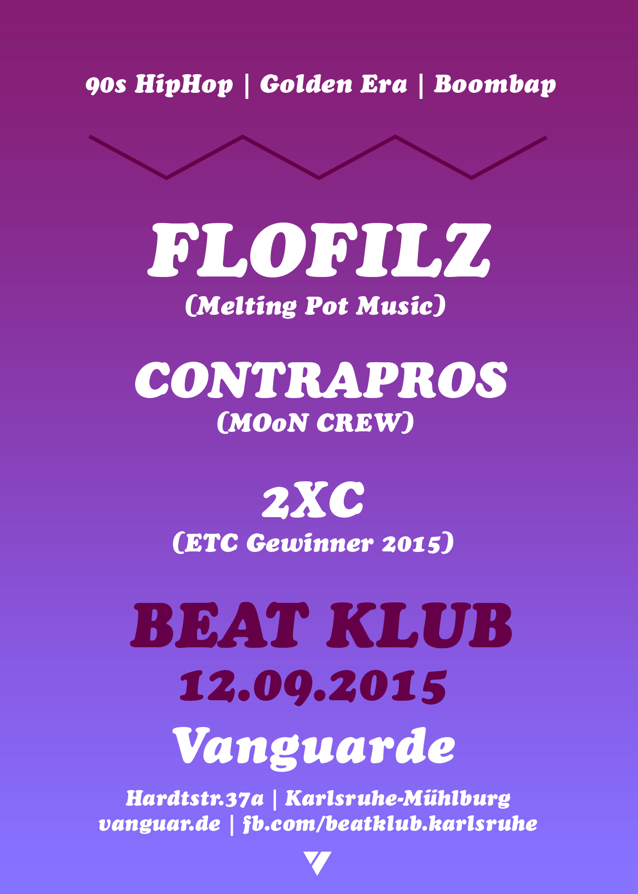 12.09.2015 | BEAT KLUB #23 mit FLOFILZ (Melting Pot Music)