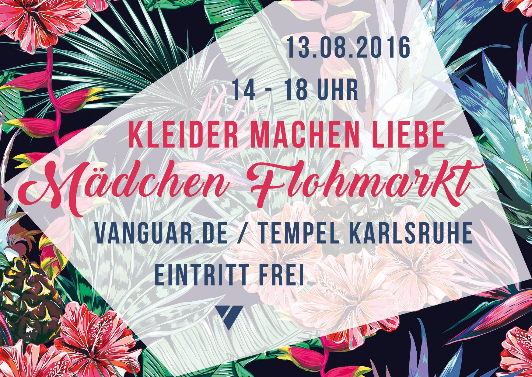 13.08.2016 | KLEIDER MACHEN LIEBE Mädchenflohmarkt // Eintritt frei!