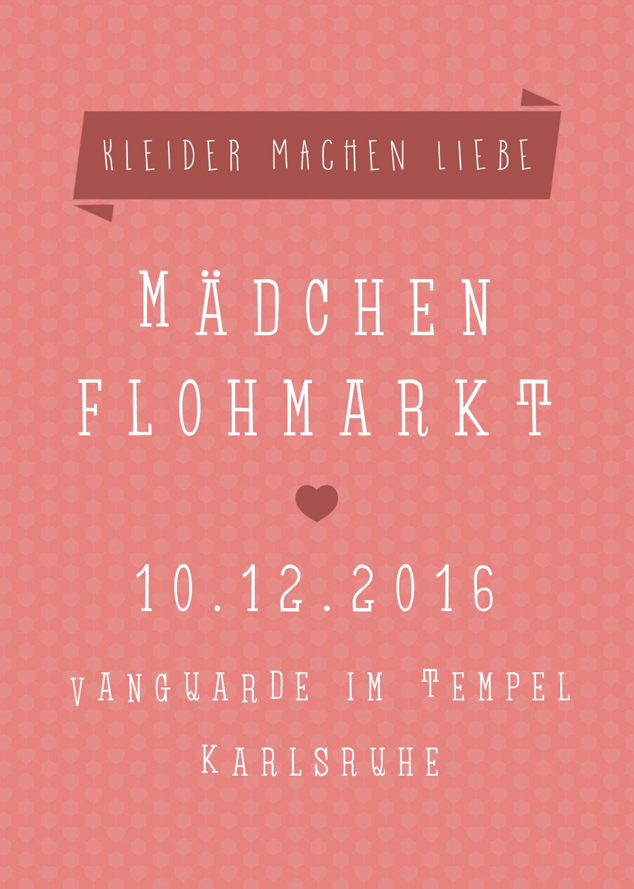 10.12.2016 | Mädchenflohmarkt
