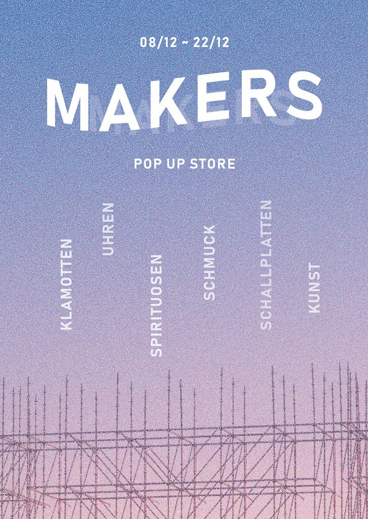 MAKERS POP UP STORE KARLSRUHE